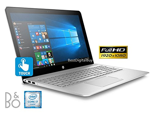 HP Envy Touch 15t Laptop 7th Gen. Intel i7 up to 3.5 GHz 16GB 1TB Solid State Drive 15.6