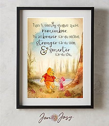 Amazoncom Winnie The Pooh A A Milne You Are Braver Than You