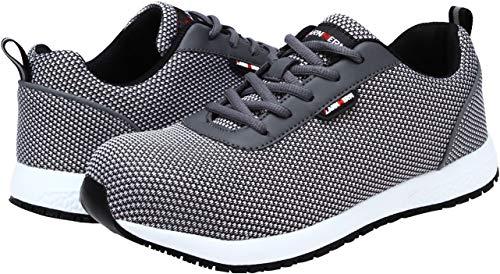 Hommes Gray Src Légères Ultra Respirables Travail Baskets Larnmern De Lm Antidérapante 1805 Sécurité Chaussures wORtS