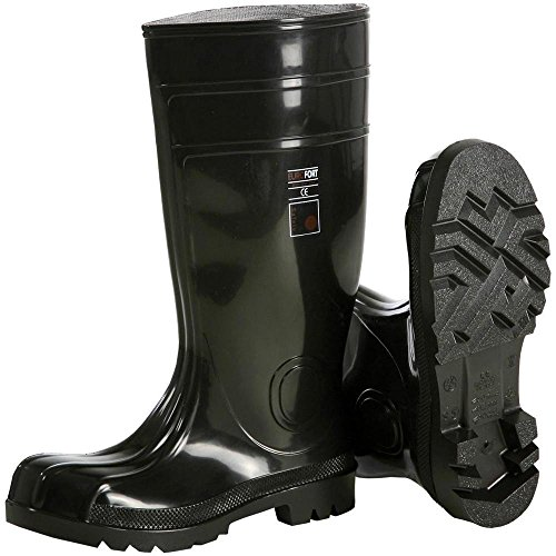 BLACK-SAFETY S5 PVC-STIEFEL GR. 43