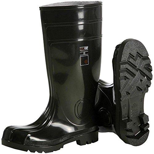 Stivali di sicurezza S5 Misura 40 Nero Leipold Dhle Black Safety 2491 1 Paia