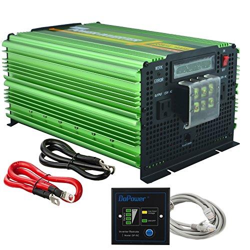 Edecoa 3500w Peak 7000w Power Inverter Pure Sine Wave Dc