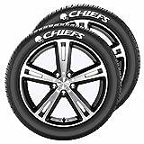 NFL Kansas City Chiefs Tire Tatz, One Size, One Color