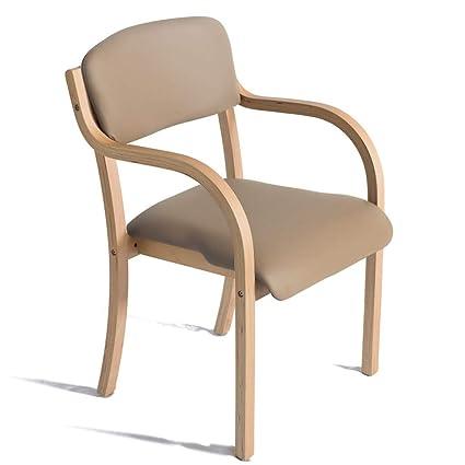 Amazon.com: CXQ Modern Minimalist Solid Wood Dining Chair ...