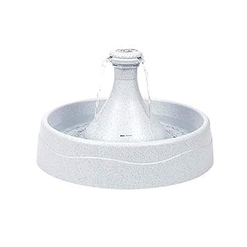 Miao Dispensador de Agua para una Fuente para Mascotas 360 dispensador de Agua Inteligente de oxígeno circulante Dispensador de Agua para Mascotas 3.8L ...