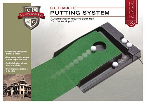 Golf Gifts & Gallery Clubhouse Collection Electric Ultimate Putting System