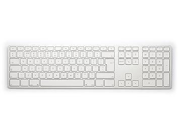 61b97674d8f UK Matias Bluetooth Aluminum Keyboard Silver: Amazon.co.uk: Electronics