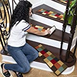 Sweet Home Stores Checkered Stair Treads