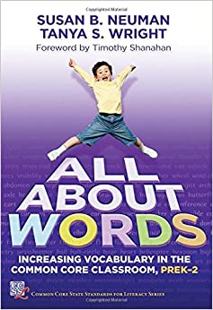 Descargar All About Words: Increasing Vocabulary In The Common Core Classroom, Pre K-2 PDF