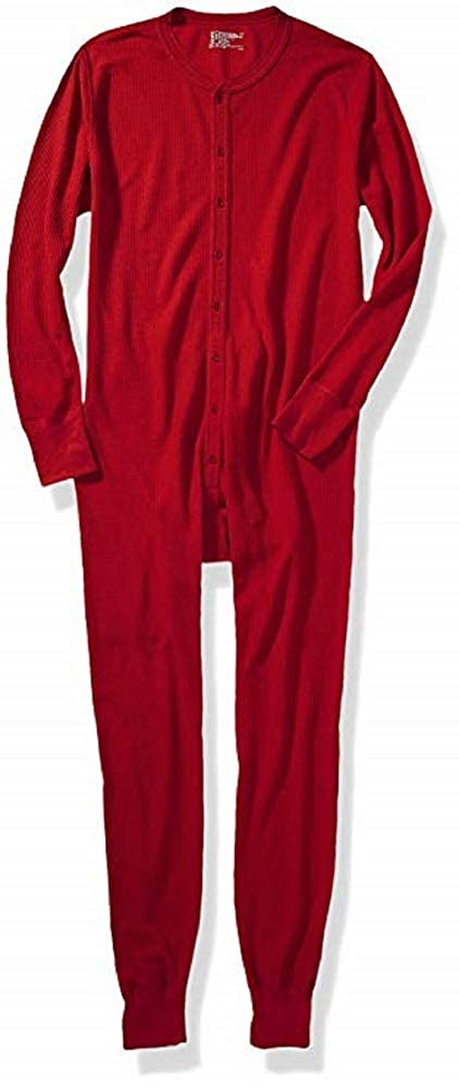 Hanes Men's Big and Tall Red Label X-Temp Unionsuit, Natural, 4X Large