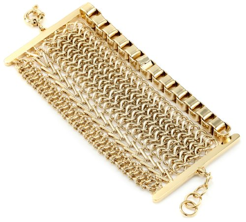 giuseppe-zanotti-gold-finish-multi-layered-bracelet