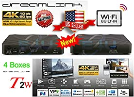 { Package of 4 } 2019 Model Dreamlink T2w Smart TV Android 7 OS Quad CORE