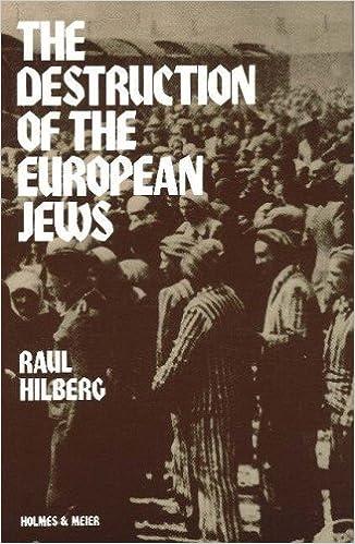 Bildresultat för raul hilberg the destruction of the european jews