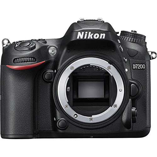"51BsfmkuVGL - Nikon D7200 24.2 MP Dual Zoom Lens Kit with 3.2"" LCD, Black"