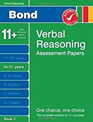 WHS Bond 11+Verbal Reasoning Pack: Bond Verbal Reasoning Assessment Papers 10-11+ years Book 2 by Bayliss, Jane New Edition (2011)