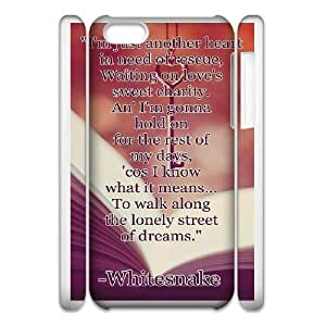 Protection Cover iphone6 Plus 5.5 3D Cell Phone Case White Mngoi Alone Quotes Durable Rubber Cases