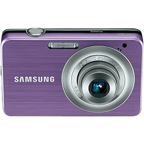 Samsung ST30 10 MP Compact Digital Camera (Purple) (Certified Refurbished)