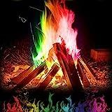 Foshin Multicolor Flame Powder Flame Dyeing Outdoor Bonfire Party Supplies (25g)