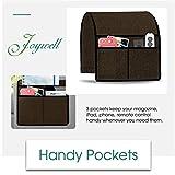 Joywell Sofa Armrest Organizer, 3 Pockets Remote