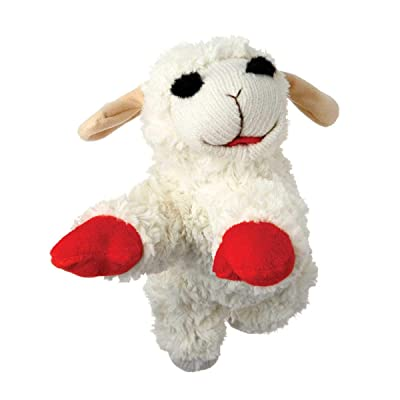 "MPP Lamb Chop Dog Toy Soft Plush Squeaker Classic TV Puppet Character Choose Size (Jumbo - 24"") : Pet Supplies"