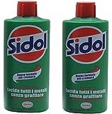 Henkel: Sidol Metallpolitur 250 ml * Pack of 2 * [ Italian Import ]