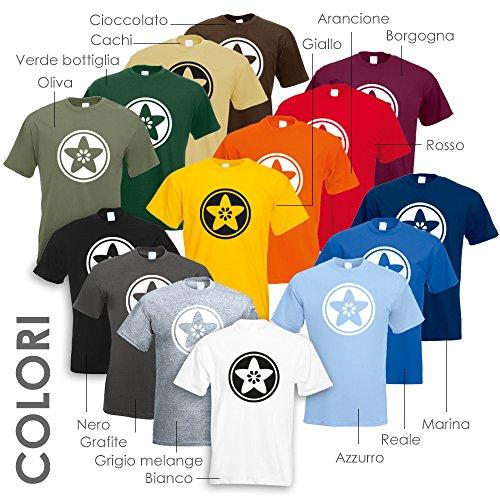 Pattern Japan M Man shirt L Diversi T Cotone Print Cioccolato Xl Colori Oldschool S Modello 15 In Fun Xxl qv6qr