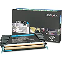 LEXMARK C736/X736/38 RET PRG TNR 10K CYN