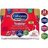 Enfagrow NeuroPro Omega 3 DHA Prebiotics Non-GMO (Formerly Toddler Next Step) Toddler Nutritional Milk Drink, Vanilla Flavor Ready to Feed Liquid, 8 fl. oz. bottle (24 bottles) From Makers of Enfamil