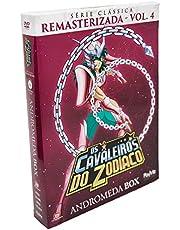 Os Cavaleiros Do Zodiaco Serie Classica Remasterizada Volume 4 - Andromeda Box [DVD]
