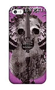 For Iphone 5/5s Tpu Phone Case Cover(worlds Collide)