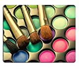 MSD Natural Rubber Mousepad Makeup palette with makeup brushes Toned image IMAGE 35202824