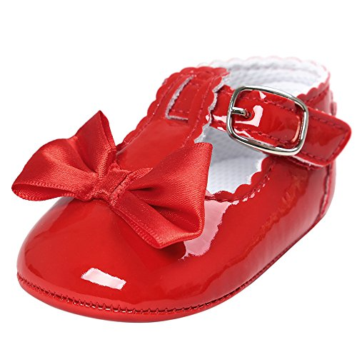 Amazon.com : Baby Shoes, Leedford Infant Toddler Baby Soft Sole Bowknot Moccasins Leather Crib Shoes (US:2.5, White) : Baby