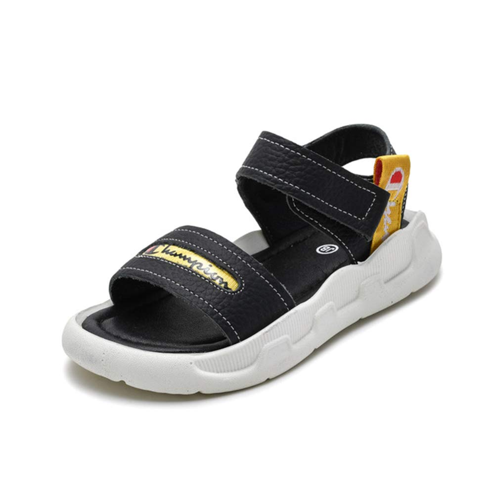 Mubeuo Leather Athletic Sandles Open Toe Hiking Kids Boys Sandals