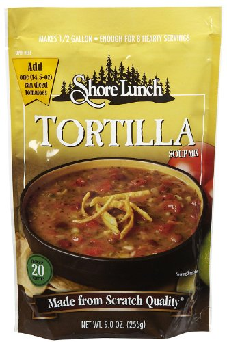 Shore Lunch Mix Soup Tortilla, 9 oz