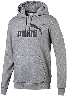 31bc9947f952c Puma Ess Hoody Tr Big Logo Hoodie For Men - grey, Xl: Amazon.com