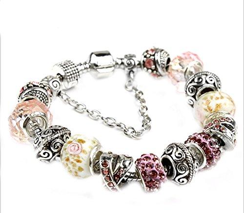 Robert Reyna Crystal Bracelet Jewelry,Badr,18cm