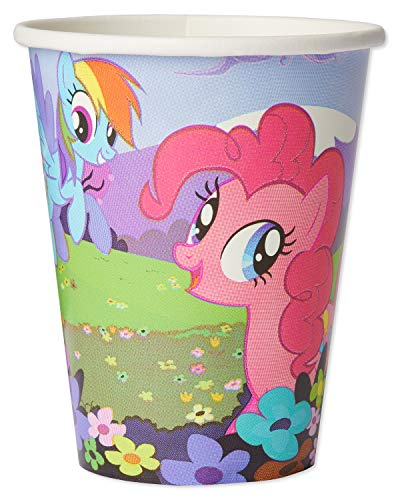 American Greetings My Little Pony Party Supplies Disposable 9 oz. Paper Cups, 32-Count