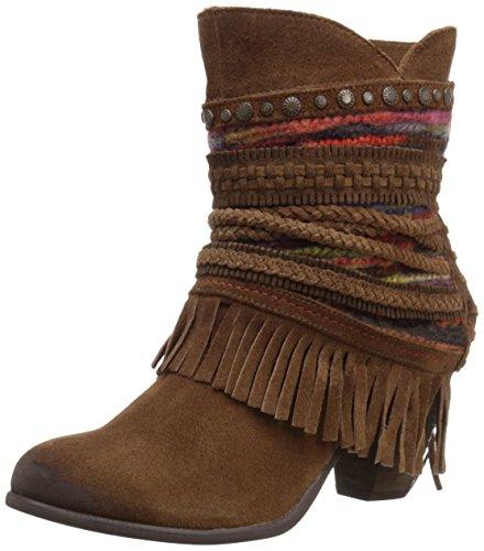 Naughty Monkey Women's Poncho Boot - Tan - 8.5 B(M) US
