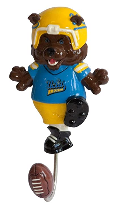Amazon.com: NCAA UCLA Mascot gancho perchero: Sports & Outdoors
