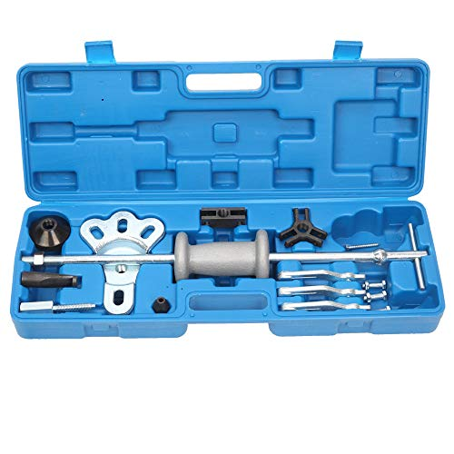 16pc Slide Hammer Puller Axle Bearing Dent Hub 2/3 Jaw Internal External Gear Puller Repair Tool Kit