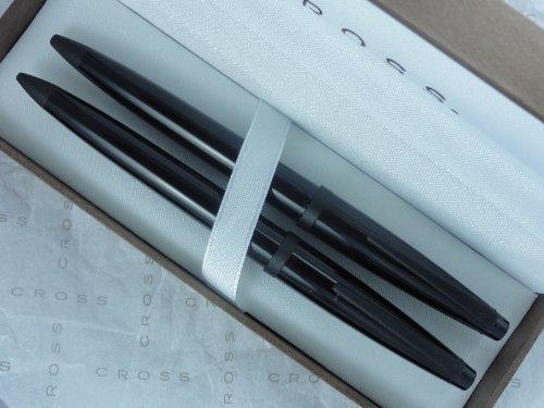 Cross Solo Ebony Black Ballpoint Pen & 0.5MM Lead Pencil (Ebony Ball)