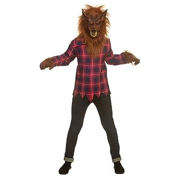 Kids Boys Scary Werewolf Halloween Medium Fancy Dress Costume  sc 1 st  Amazon UK & Kids Boys Scary Werewolf Halloween Medium Fancy Dress Costume ...