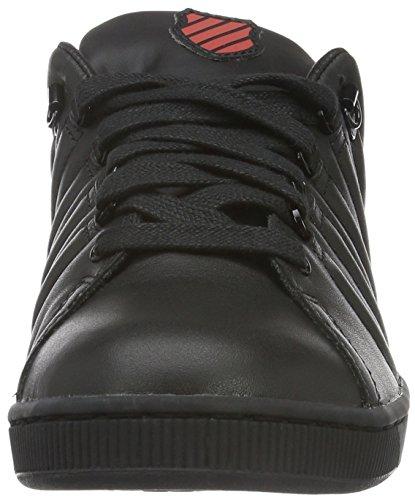 K-Swiss Lozaniii Tt Rflctv, Zapatillas para Hombre Negro (Black/Mandarin Red)