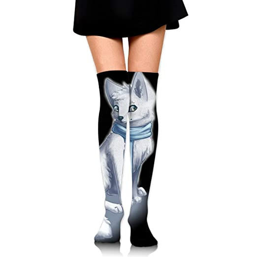8ff9d8aeb7ba0 Kyliel Over the Knee Thigh High Socks, Cute Arctic Print High Boot ...