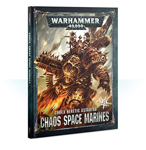 Games Workshop Warhammer 40,000: Codex: Chaos Space Marines 2 Hardcover