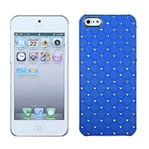 MYBAT IPHONE5HPCBKDZDI037NP Premium Executive Dazzling Diamonds Case for iPhone 5/iPhone 5S, 1-Pack, Retail Packaging, Dark Blue