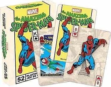 Marvel The Amazing Spider Man Retro Juego de cartas por ...