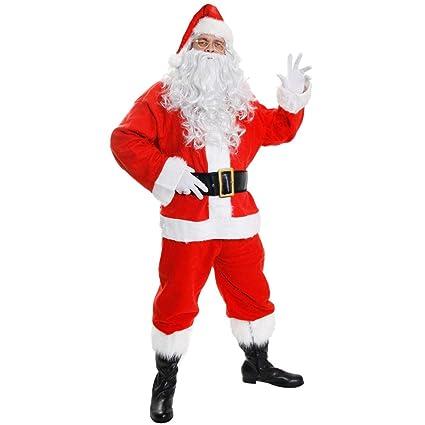 ILOVEFANCYDRESS Disfraz DE Papa Noel para Adulto Conjunto TEMATICO DE 10 Piezas TEMATICAS DE Papa Noel NAVIAD (S)