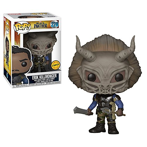 FunKo POP! Marvel Black Panther Erik Killmonger CHASE VARIAN