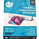 Pluqis Thermal Laminating Pouches, 5 mil :: 9' x 11.5' (200...